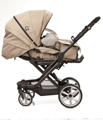 Gesslein stroller from the special edition Trend including C1- lift carrycot Beige 2016 - large image
