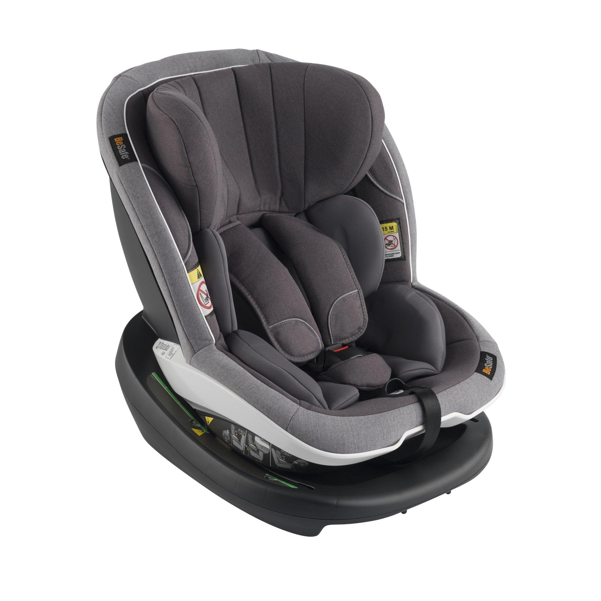 besafe car seat izi modular 2018 metallic melange buy at kidsroom car seats. Black Bedroom Furniture Sets. Home Design Ideas