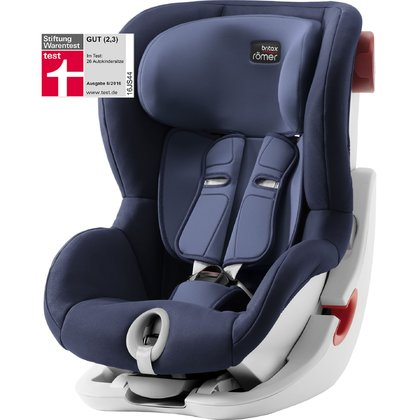 Britax Römer Child Car Seat King II - * The Britax Römer child car seat is suitable for your little explorer at the age of 9 months up to 4 years. It features a built-in side and frontal impact protection which provide your child with a high level of safety during every ride in your car./ul>