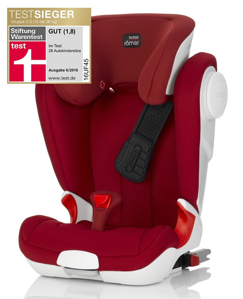 britax r mer child car seat kidfix ii xp sict 2018 flame red buy at kidsroom car seats. Black Bedroom Furniture Sets. Home Design Ideas