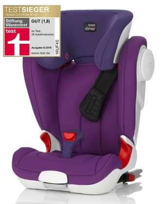 Britax Römer Kindersitz Kidfix II XP SICT - The Britax Römer Kidfix II seat XP SICT is a highly flexible seatfrom about 4 to 12 years and offers thanks to the X-PAD unique frontal impact protection.