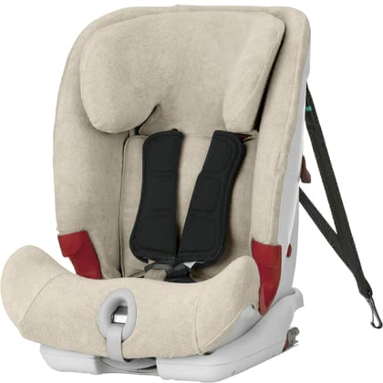 Britax Römer Summer Cover for Car Seat Advansafix II SICT/ III SICT -  * The Britax Römer Summer Cover is the ultimate must-have for hot summer days. The cosy and soft cover is heat-absorbing and won't make your little one breaking a sweat. Suitable for child car seat Advansafix II SICT/ Advansafix III SICT