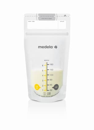 Medela Pump & Save Breast Milk Bags -  * The Medela Pump & Save bag for breast milk are bags which can immediately be used and which are made of tested, food safe BPA-free (bisphenol A) material.