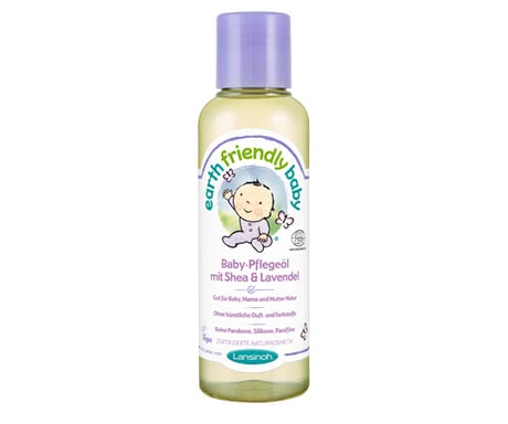 Lansinoh Earth Friendly Baby oil Shea & Lavender 2016 - large image