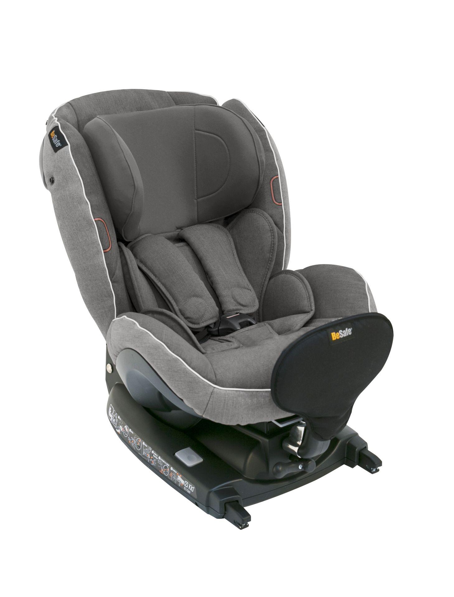 besafe child car seat izi kid x2 i size 2017 metallic melange buy at kidsroom car seats. Black Bedroom Furniture Sets. Home Design Ideas