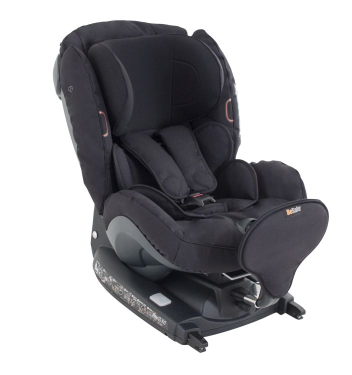 besafe child car seat izi kid x2 i size 2018 black cab. Black Bedroom Furniture Sets. Home Design Ideas