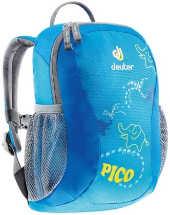Deuter children's backpack Pico turquoise check 2016 - large image