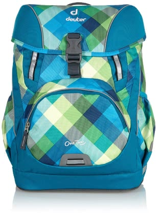 Deuter school bag OneTwo in petrol crosscheck 2016 - large image