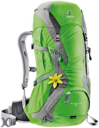 Deuter women's hiking backpack Futura 30 SL sprin-silver 2016 - large image