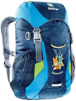 Deuter children's backpack fox in midnight-turquoise 2016 - large image