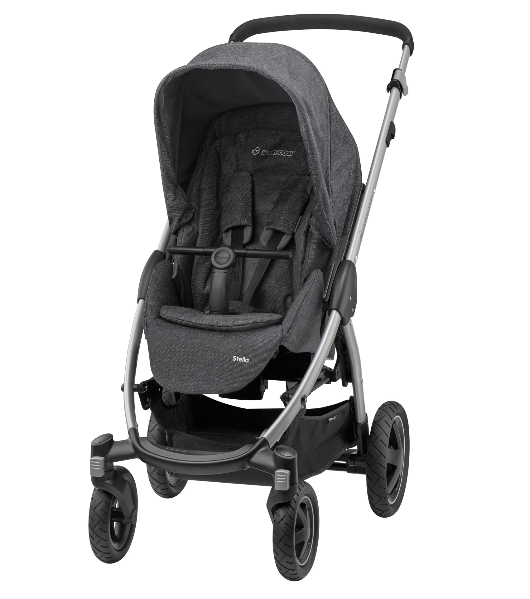 maxi cosi stroller stella 2017 sparkling grey buy at. Black Bedroom Furniture Sets. Home Design Ideas