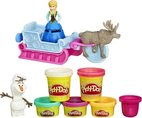 Play-Doh modelling clay Disney Frozen Anna's sleigh 2016 - large image