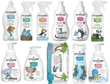 Attitude care and cleaning set 2016 - large image