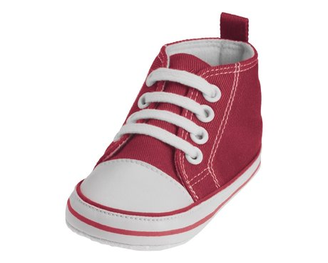 Playshoes Baby-Turnschuh in vielen Farben bordeaux 2016 - large image