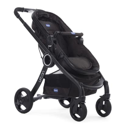 Chicco Pushchair Urban Plus -  * The Chicco pushchair Urban Plus is a versatile city companion that offers maximum comfort. The special feature: the seat unit can be transformed into a spacious carrycot in only a few easy steps.