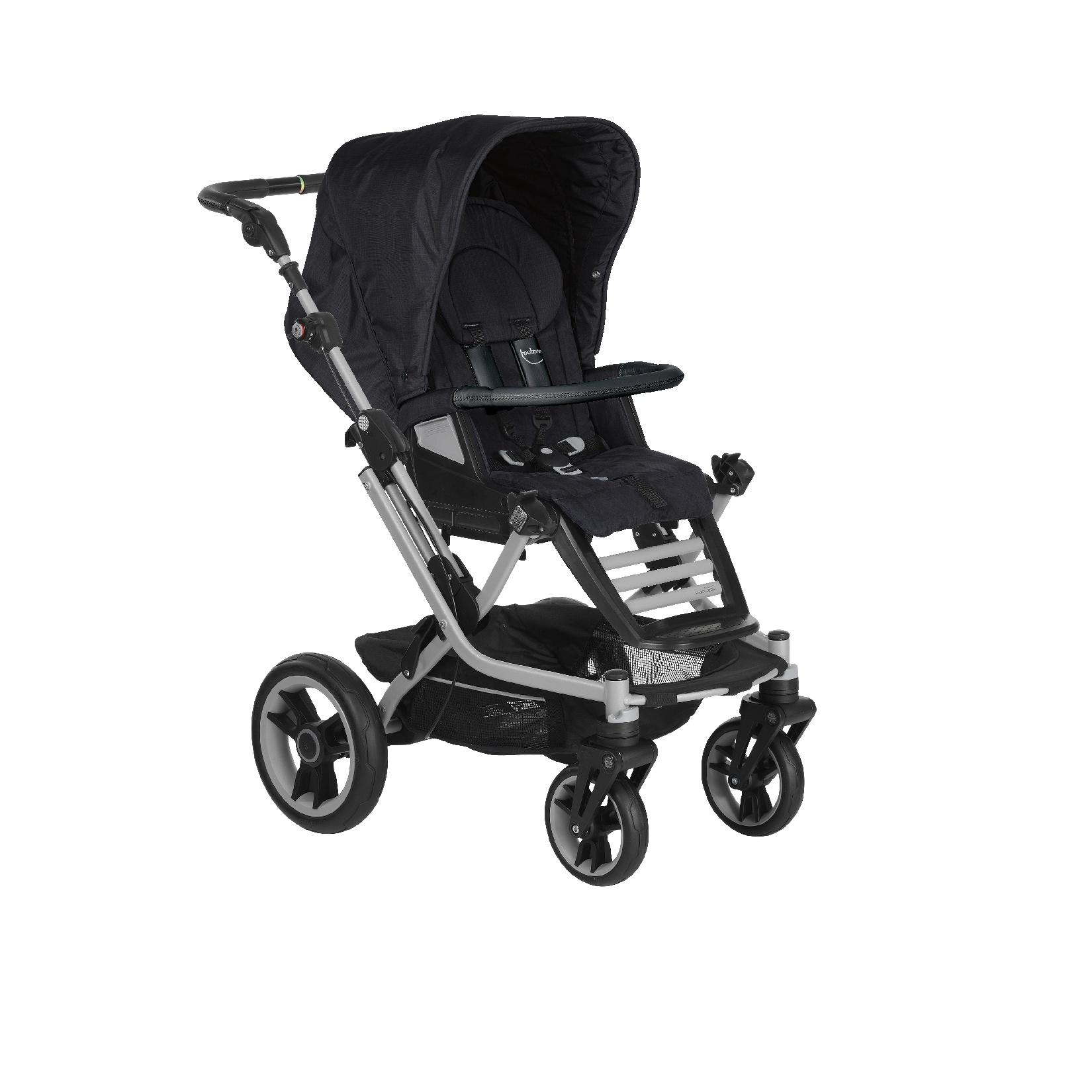 teutonia stroller mistral s 2016 6000 onyx buy at. Black Bedroom Furniture Sets. Home Design Ideas