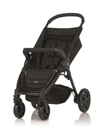 Britax stroller B-Agile 4 Plus - * The B-Agile 4 is a reliable companion for mama and baby – simple handling, lightweight and flexible from the first day.