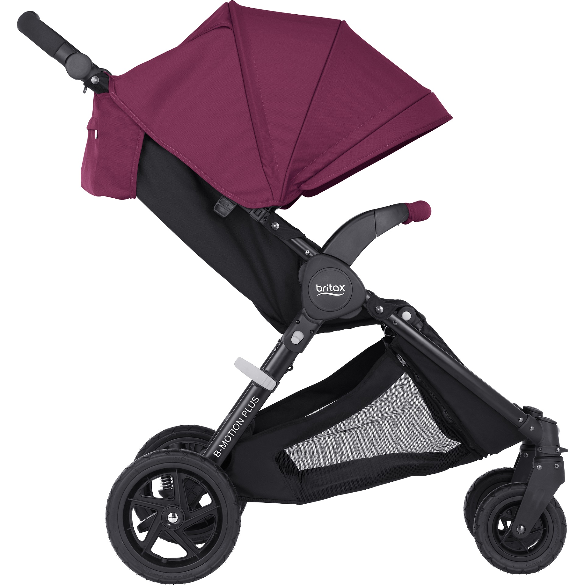 ... Britax B-Motion 4 Plus incl. Canopy Pack Wine Red 2018 - large image ...  sc 1 st  Baby products online store - worldwide shipping & Britax B-Motion 4 Plus incl. Canopy Pack - Buy at kidsroom | Strollers