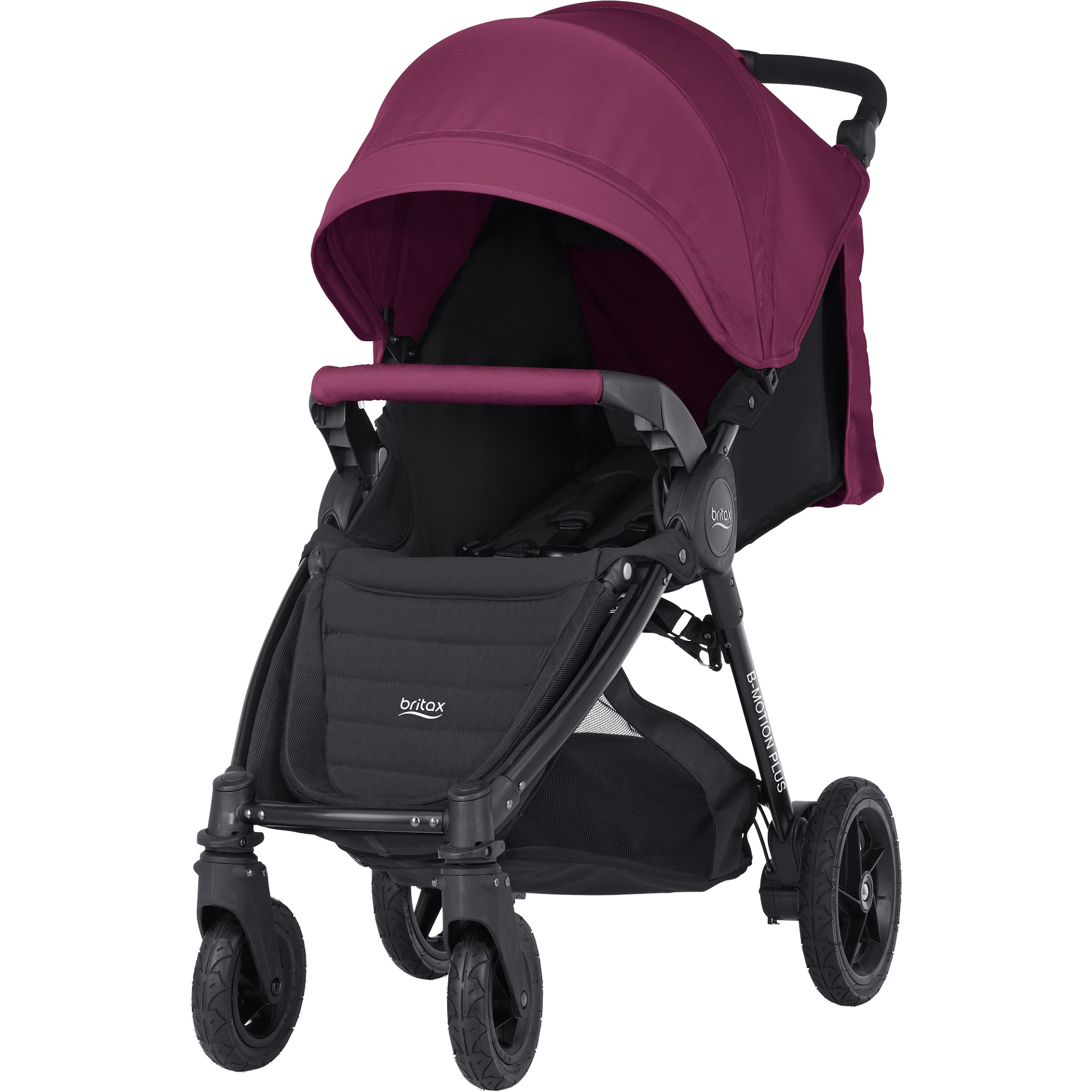 Britax B-Motion 4 Plus incl. Canopy Pack Wine Red 2018 - large image ...  sc 1 st  Baby products online store - worldwide shipping & Britax B-Motion 4 Plus incl. Canopy Pack - Buy at kidsroom   Strollers