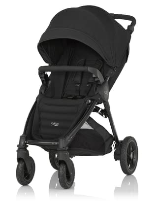 Britax B-MOTION 4 Plus including Canopy Pack Cosmos Black 2019 - large image