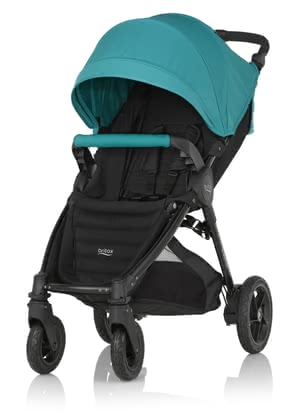 Britax B-MOTION 4 Plus including Canopy Pack Lagoon Green 2019 - large image