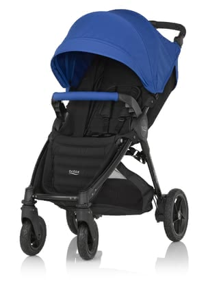 Britax B-MOTION 4 Plus including Canopy Pack Ocean Blue 2020 - large image