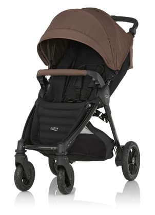 Britax B-MOTION 4 Plus including Canopy Pack Wood Brown 2016 - large image
