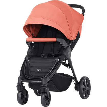 Britax B-Agile 4 Plus incl. Canopy Pack Coral Peach 2017 - large image