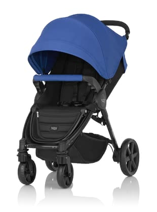 Britax B-Agile 4 Plus including Canopy Pack Ocean Blue 2020 - large image