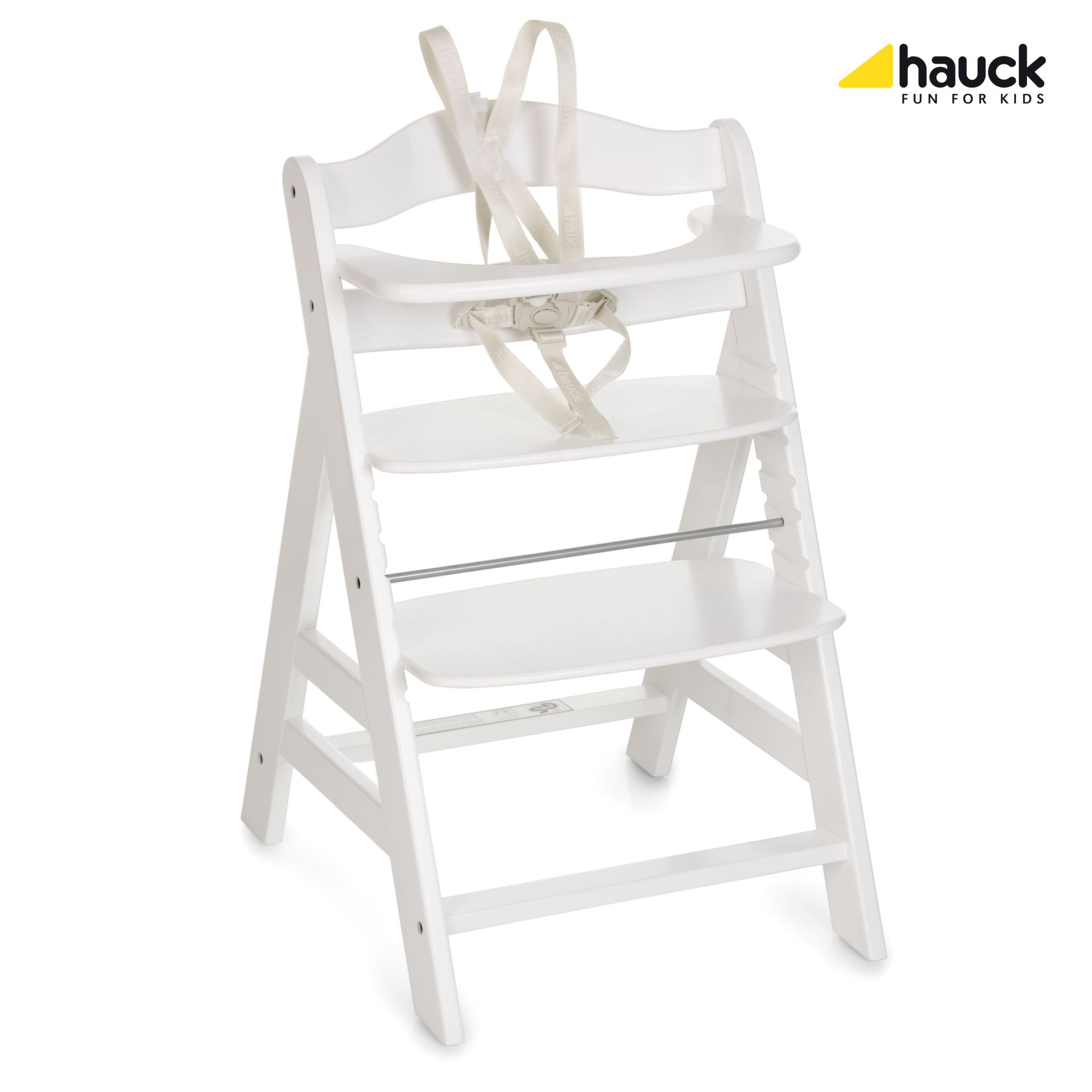 La Chaise Haute Hauck Alpha Plus White 2019