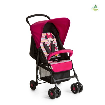 Disney Buggy Sport, Mickey & Minnie -  * The Buggy Sport by Disney is super light and easy to manoeuvre and thus the perfect companion for your shopping trip.