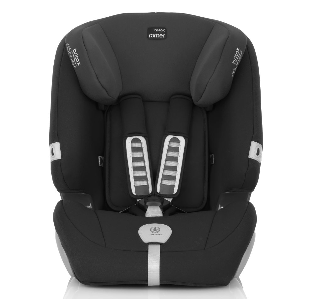britax r mer kindersitz evolva 1 2 3 plus trendline inkl sommerbezug 2016 cosmos black buy at. Black Bedroom Furniture Sets. Home Design Ideas