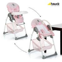 Hauck Highchair Sit'n Relax -  * The Hauck highchair Sit'n Relax enables your little one to take part in everyday family life right from the very first day. Due to the highchair's attachments which can be adjusted in seven different levels, you can have your little one close to you no matter at which table you take your seats.