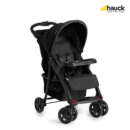 Hauck Pushchair Neo II Caviar_ Stone 2017 - large image