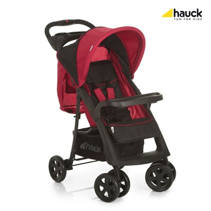 Hauck Pushchair Neo II -  * This pushchair is the perfect companion for any shopping trip or journey on which you and your little one discover the world around. With only one hand you can easily release the lock and fold the Neo II into a compact size – a real treat for when you are traveling by car, bus or train or when climbing stairs.