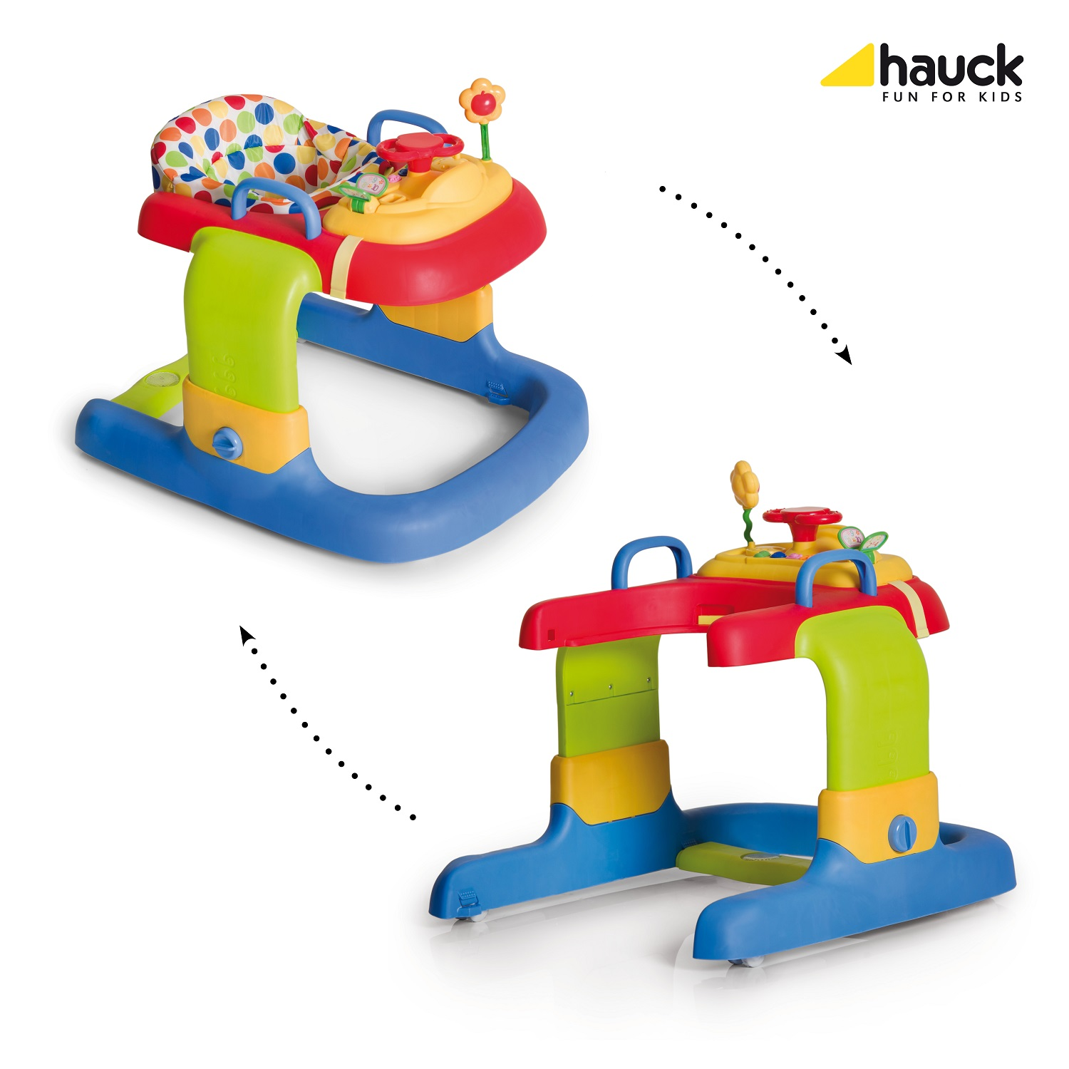 Hauck 2 in 1 Baby Walker 2017 - Buy at kidsroom | Toys ...