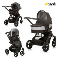Hauck Maxan 4 stroller Trio set - * The Hauck Maxan 4 Trio set promises a maximum comfort and a pure driving reward. Carrycot, car seat and sport stroller are thus exactly adjusted to your child's age and requirements.