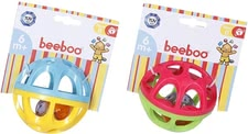 Beeboo Rasselball - The Beeboo rattle ball prepares your little junior from about 6 months to toddler age joy.