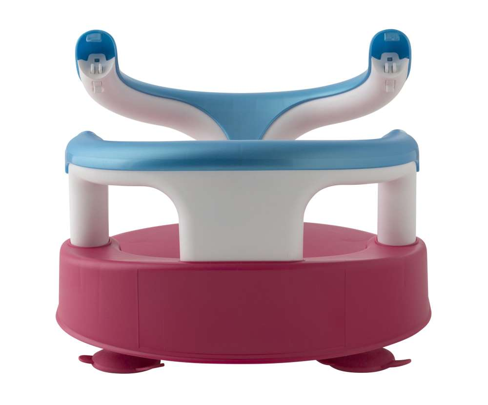 Rotho Baby Bath Seat Raspberry-Aquamarine-Weiß - Buy at kidsroom ...