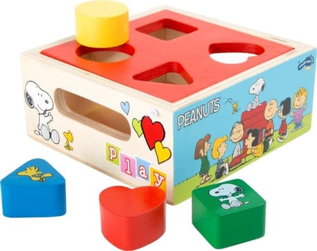 Peanuts shape sorting cube 2016 - large image