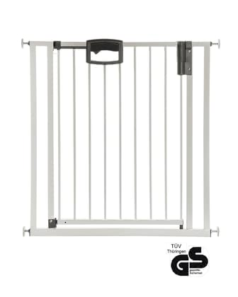 Geuther Baby Gate Easylock Plus+ -  * Has your little darling just discovered how much fun it is to crawl through your house? If so, it should be your top priority to set barriers and turn your home into a place which is safe for your child.