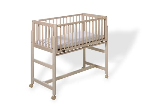 "Geuther Bedside Cot Betsy for Box-Spring Beds -  * The bedside cot ""Betsy"" by Geuther combines versatile functionality and classic design and has been developed specifically for your box-spring bed."