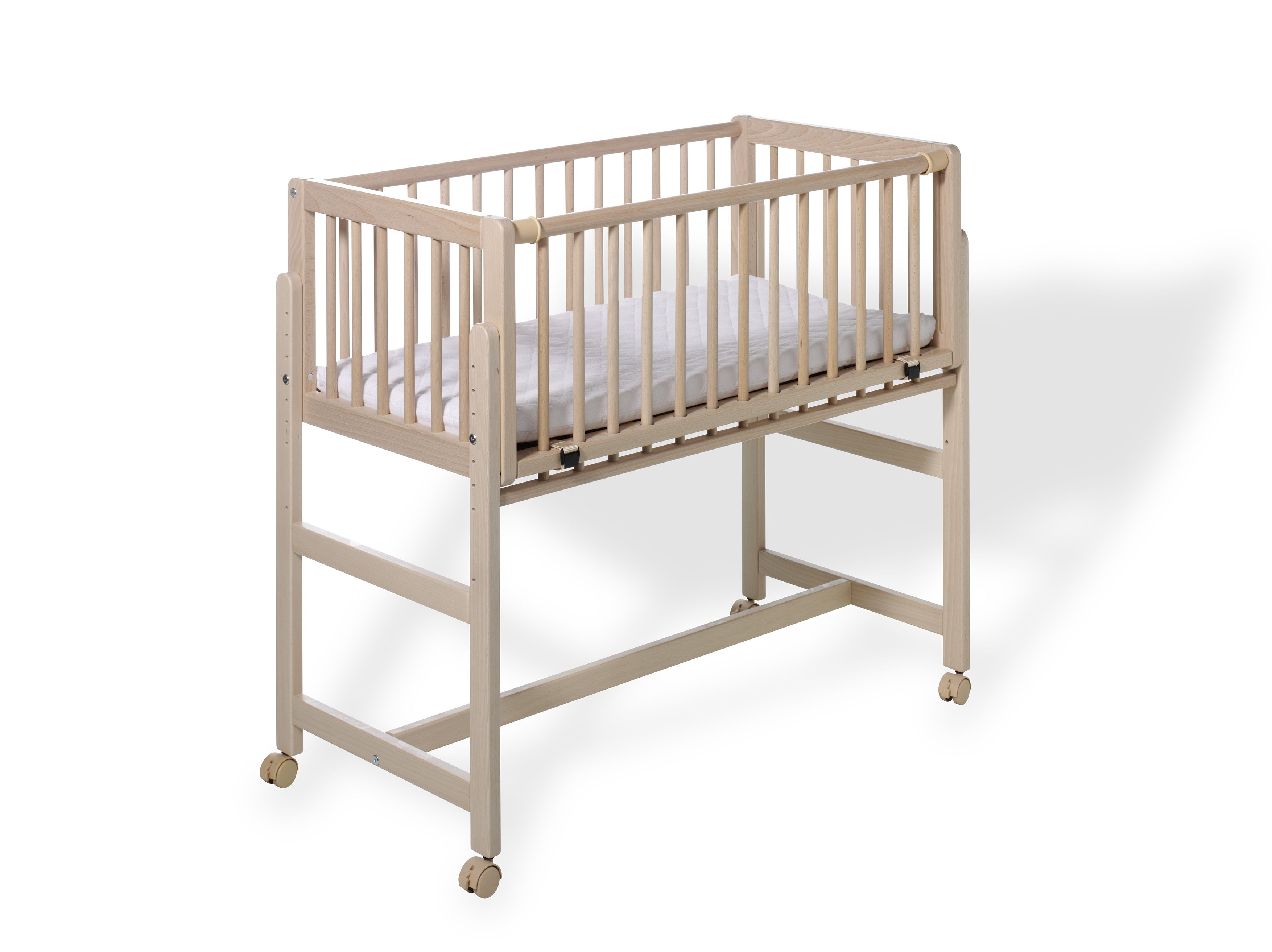 geuther bedside cot betsy for box spring beds 2017 buy. Black Bedroom Furniture Sets. Home Design Ideas