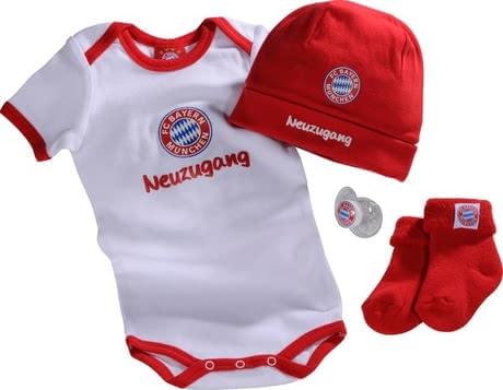 FC Bayern München Baby-Fanset  2017 - large image