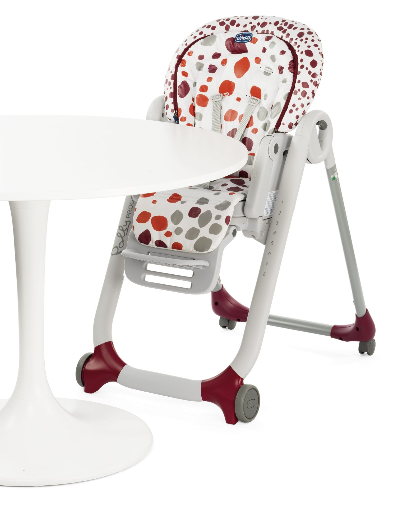 Chicco High Chair Polly Progres5 2018 CHERRY Buy At