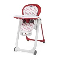 Chicco Highchair Polly Progres5 - * The Chicco highchair Polly Progres5 is a compact high chair and suitable from birth on.