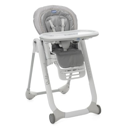 Chicco  high chair Polly Progres5 Stone 2017 - large image