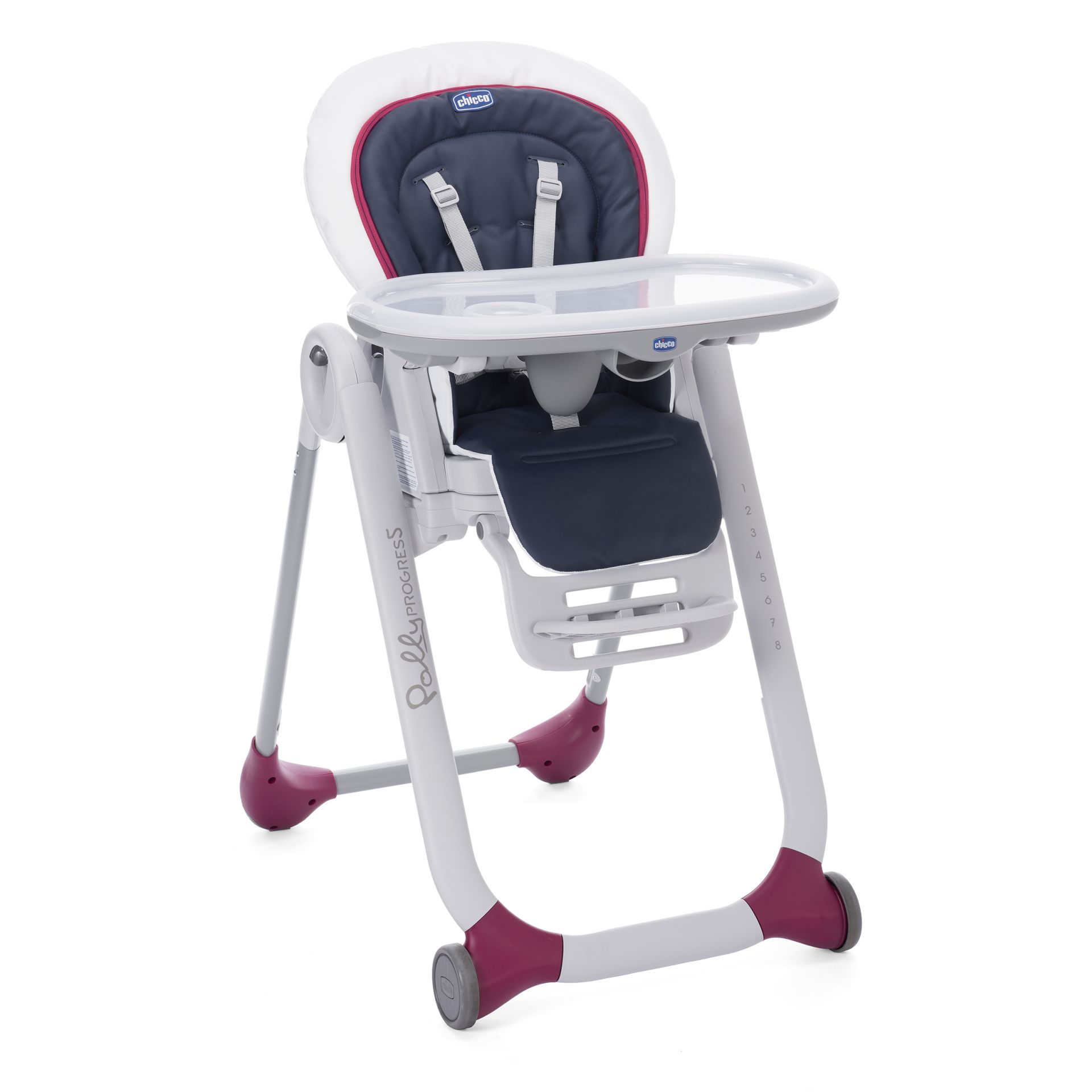 Superb Chicco High Chair Polly Progres5 Navy 2017   Large Image 1 ...