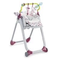 Chicco Accessories Kit for Polly Progres5 and Polly 2 Start -  * In order to add some more comfort to your child's Polly Progres5, the accessories kit comes with a seat inlay and a play bar.