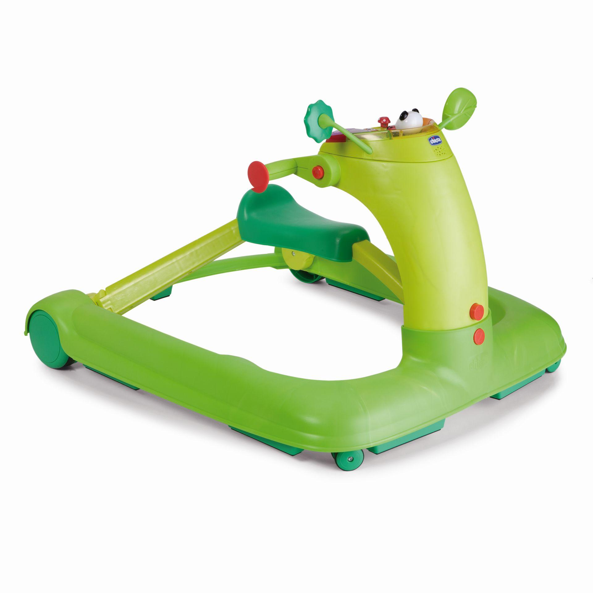 chicco baby walker 1 2 3 2018 green buy at kidsroom. Black Bedroom Furniture Sets. Home Design Ideas